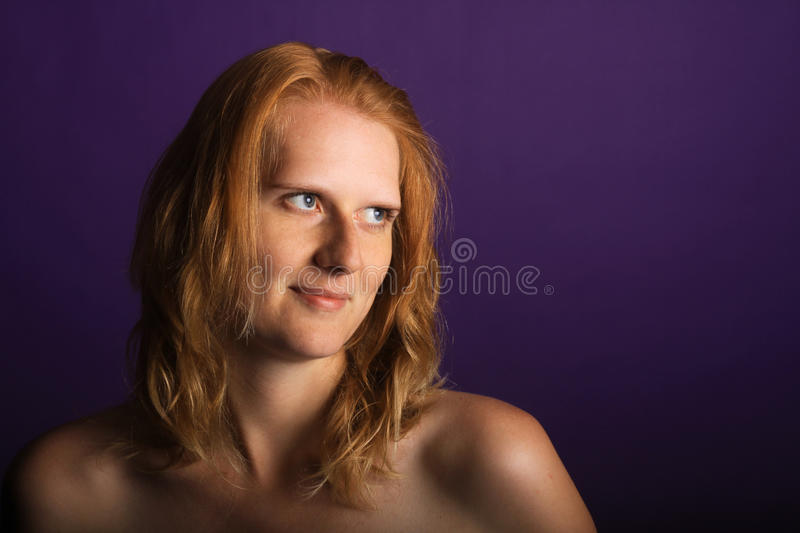 Download Redhead in the studio stock photo. Image of boudoir, glamour - 26726846
