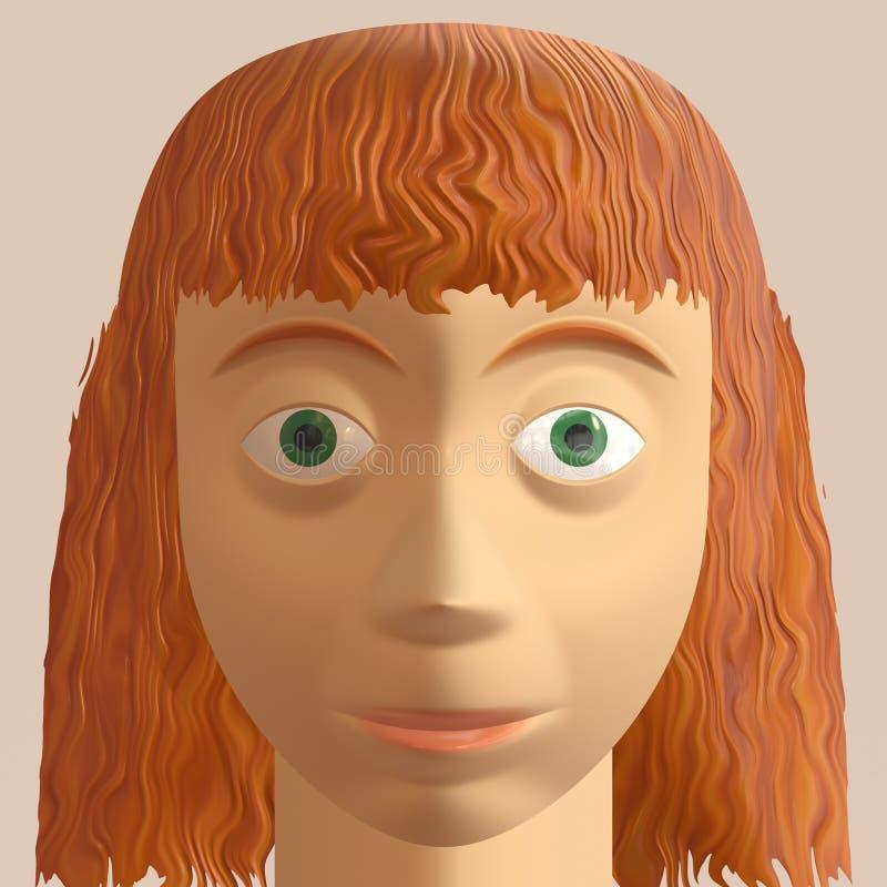 Download Redhead Woman Avatar Stock Photos - Image: 15661343
