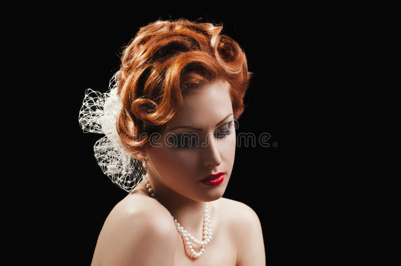 Download Redheaded  beauty stock image. Image of beauty, looking - 25860707