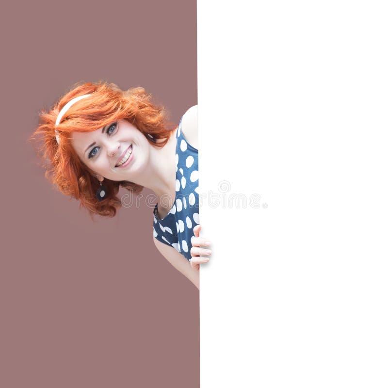Redheaded Meisje stock foto's