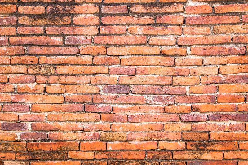 Redhite brick wall art concrete or stone texture background in w stock photography