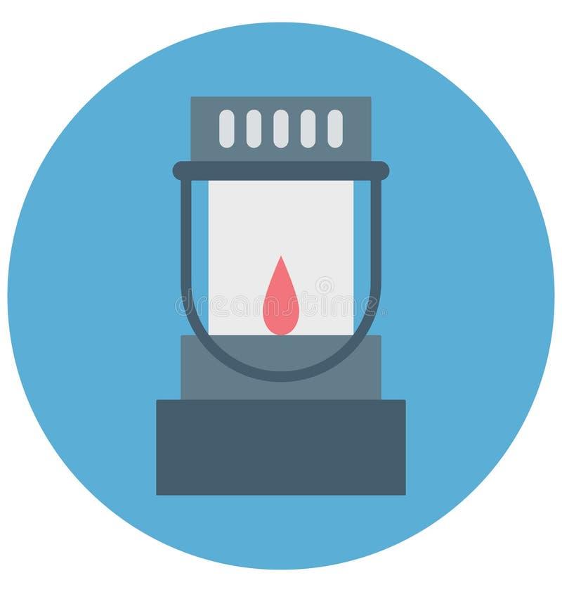 Redigerbart för symbol för bensinstationillustrationfärg turnerar vektorn isolerat lätt och specialt bruk för fritid, lopp och vektor illustrationer