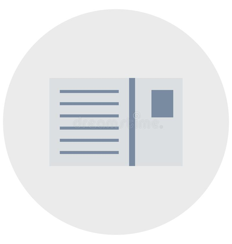 Redigerbart för symbol för biljettillustrationfärg turnerar vektorn isolerat lätt och specialt bruk för fritid, lopp och vektor illustrationer