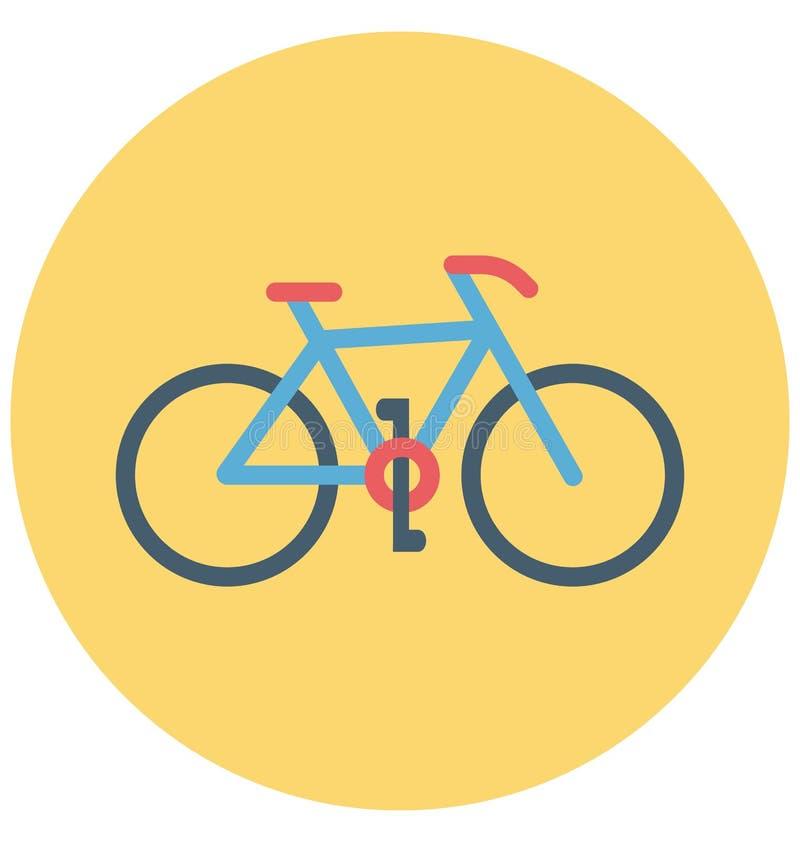 Redigerbart för symbol för illustrationfärg turnerar vektorn isolerat lätt och specialt bruk för fritid, lopp och stock illustrationer