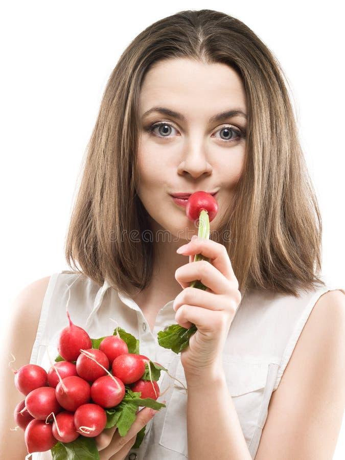 redish девушки стоковые фотографии rf