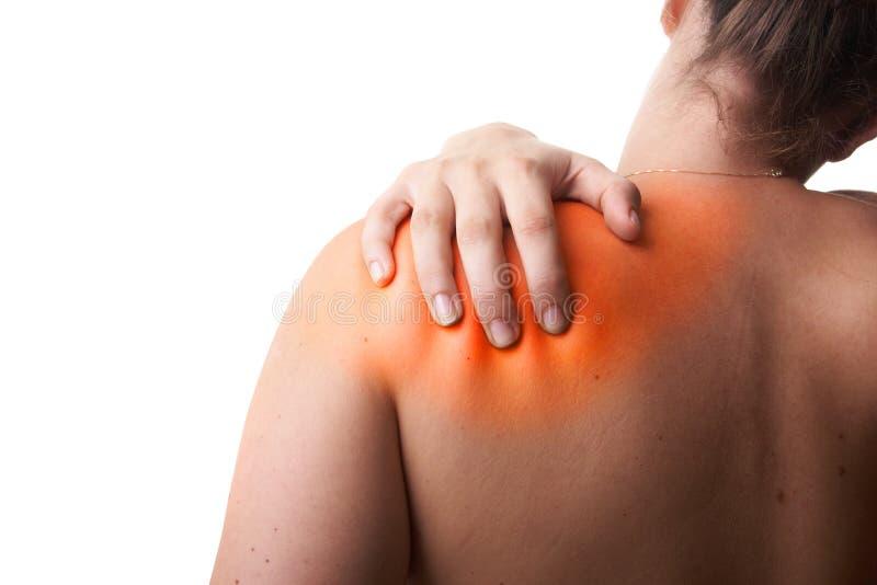 Redish pain stock photo