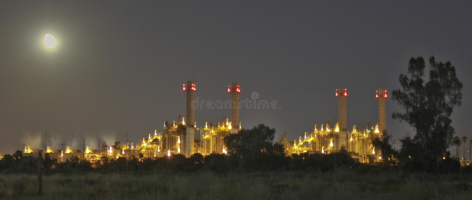 REDLANDS, CA - Edison Mountainview Power Plant photo stock