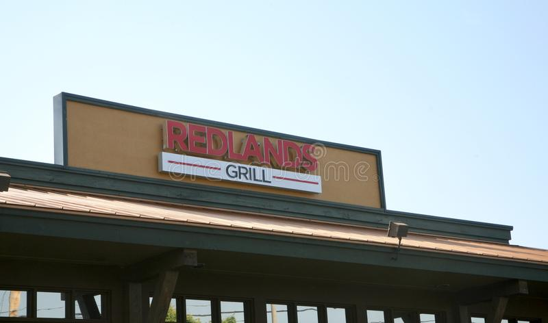 Redlands grill, Bartlett, TN obraz stock