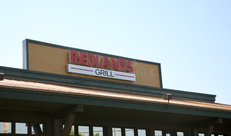 Redlandsgrill, Bartlett, TN stock afbeelding