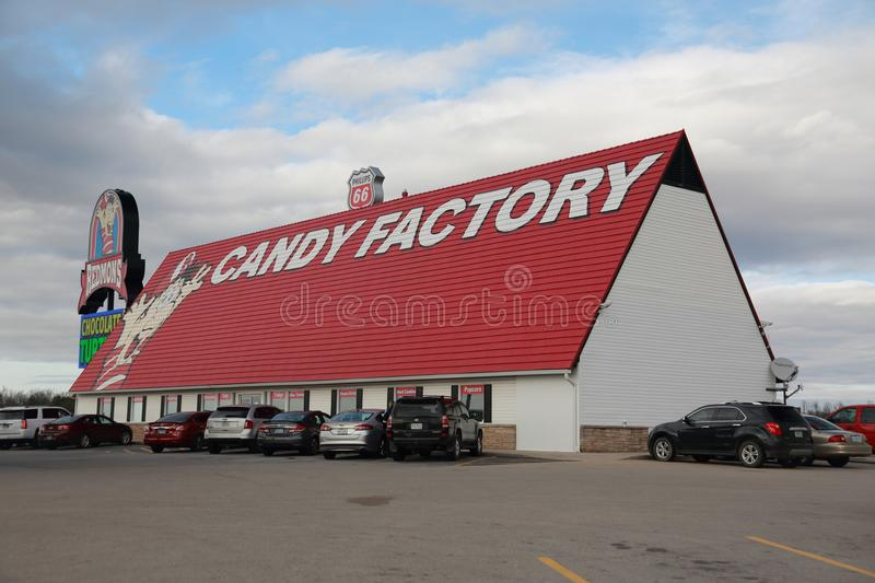 Redmond Candy Factory in Southwest Missouri royalty free stock images