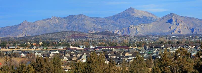Redmond, Oregon, dalla collina biforcata di Horn fotografie stock libere da diritti