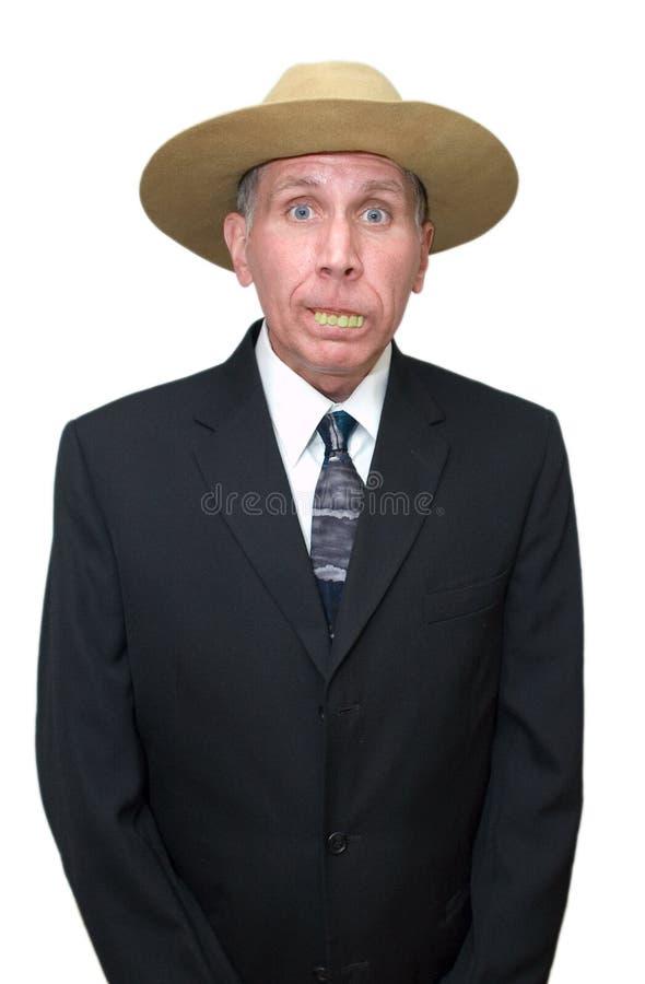 Redneck Businessman - Humorous Royalty Free Stock Photography