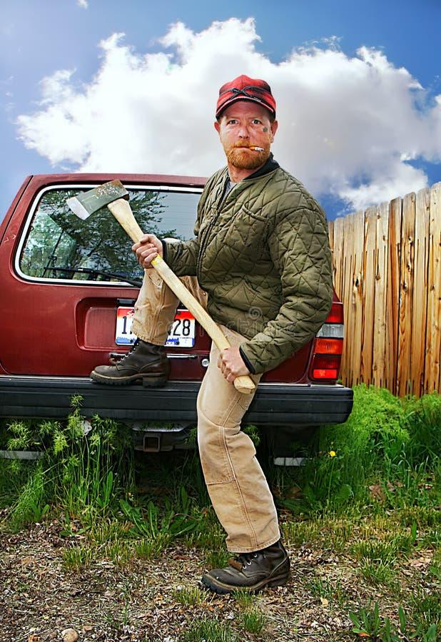 Redneck Man Stock Image