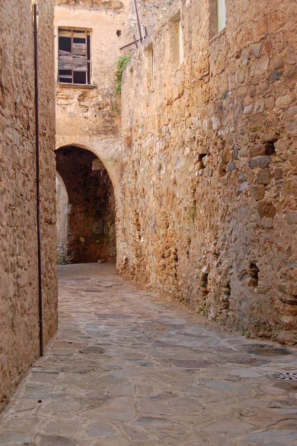 średniowieczna Italy Droga Obraz Royalty Free