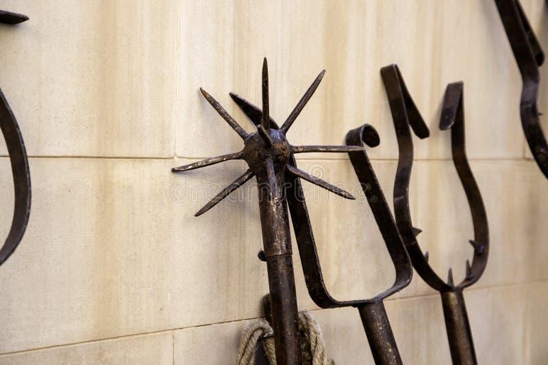 ?redniowieczny instrument tortura zdjęcia royalty free