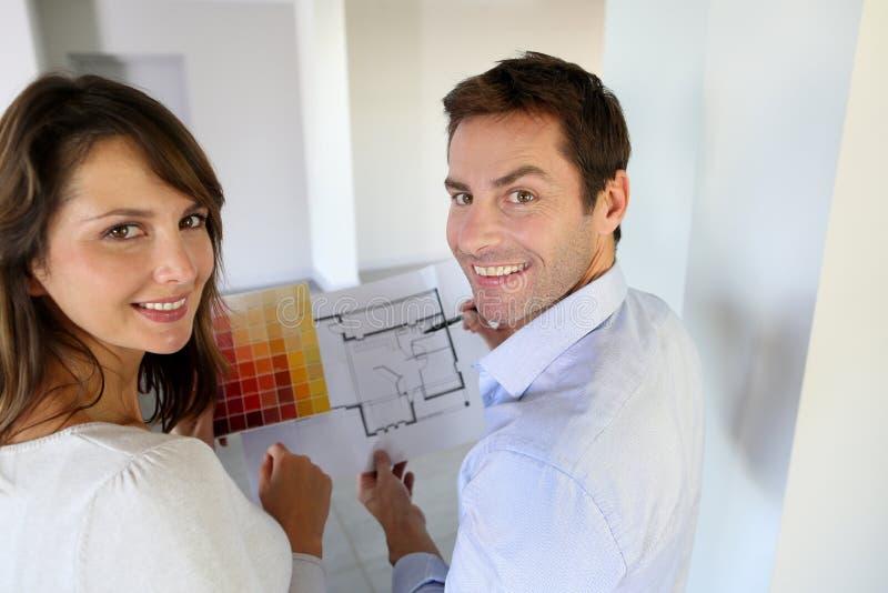 Redoing para casa imagem de stock royalty free