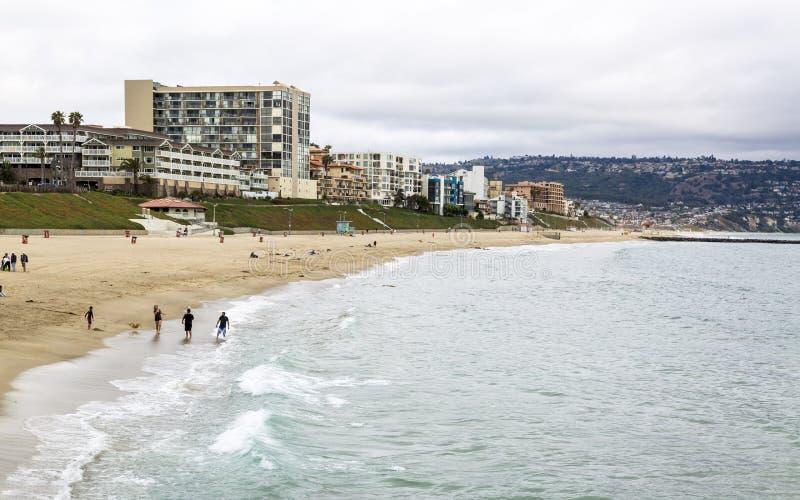 Redondo Beach Kalifornien, Amerikas förenta stater, Nordamerika arkivbild