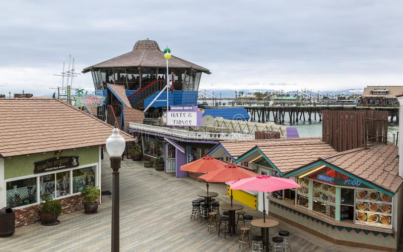 Redondo Landing Pier, Redondo Beach, California, United States of America, North America. Los Angeles, USA - May 31 2018: Redondo Landing Pier, Redondo Beach stock photography