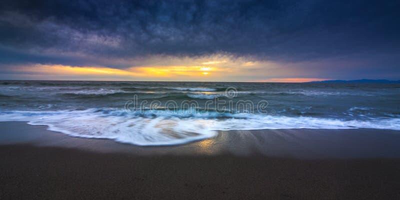 Redondo plaży zmierzch obraz royalty free