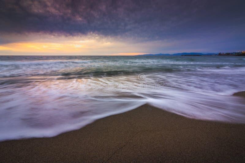 Redondo plaży zmierzch obrazy stock