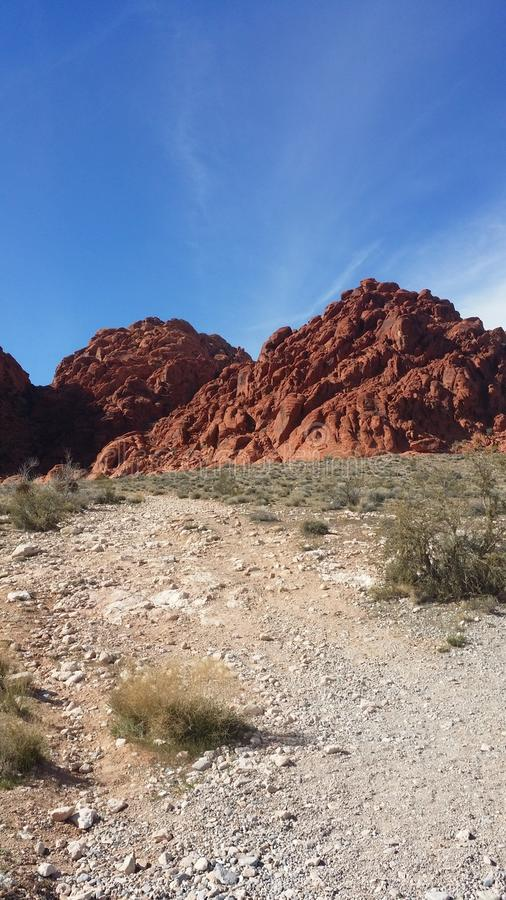 Redrock royalty free stock images