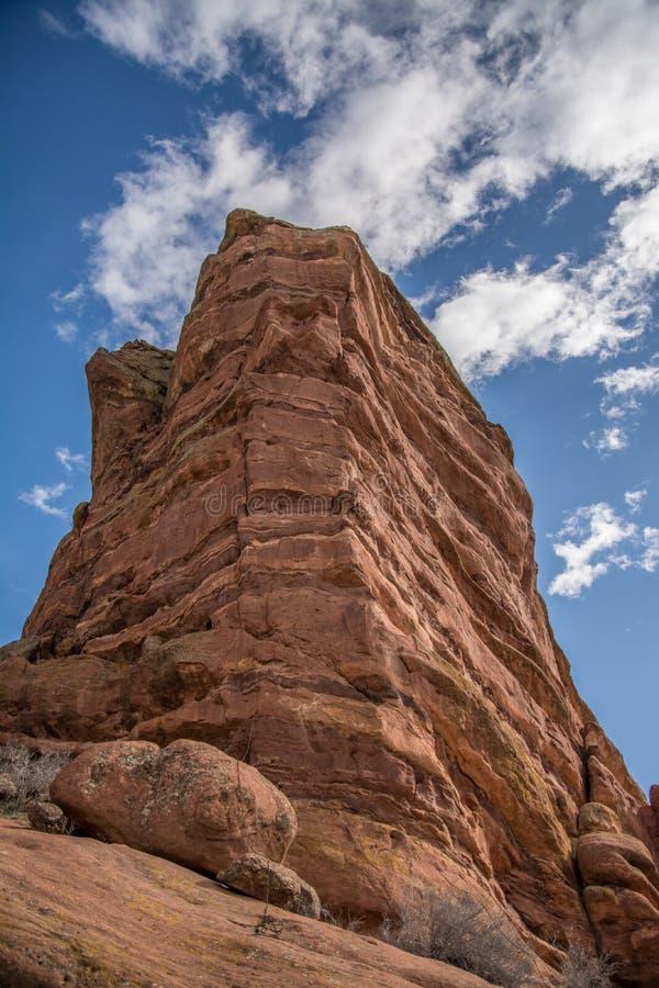 Redrock spire stock photography