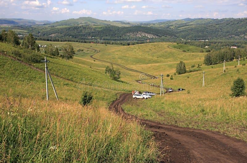 Redução De Uma Montanha. Foto de Stock
