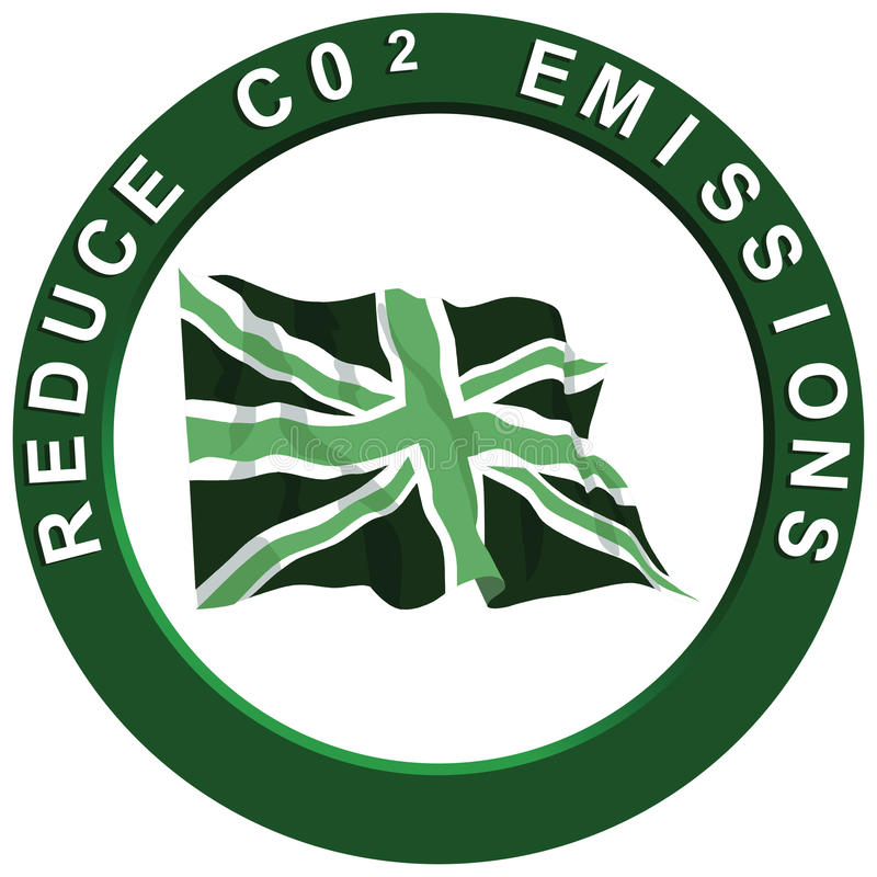 Download Reduce Carbon United Kingdom Stock Vector - Image: 12979903