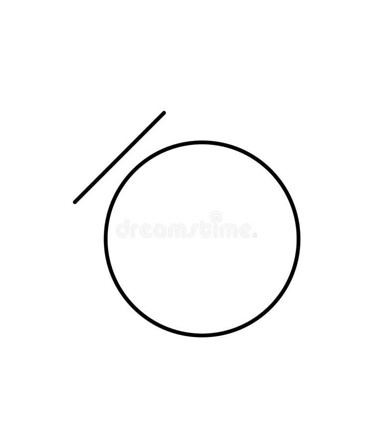 Reduced moisture sign. Laundry symbol. Eps ten vector illustration