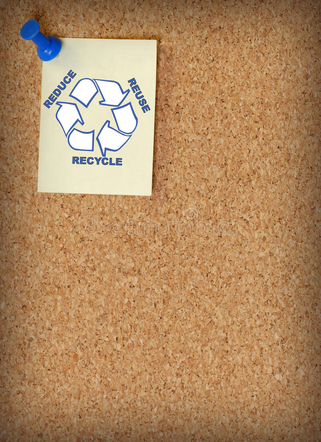 Reduzca la reutilización reciclan imagen de archivo