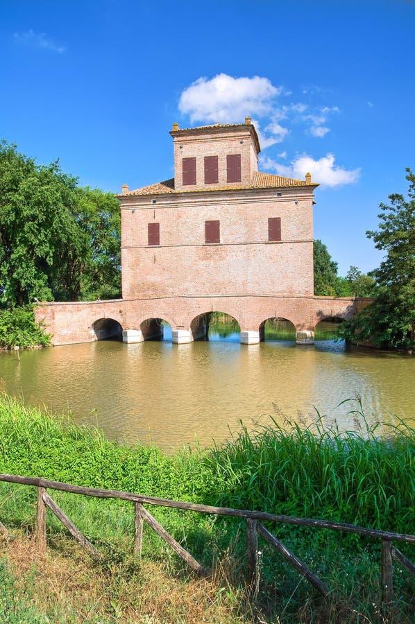 Reduzca la torre. Mesola. Emilia-Romagna. Italia. foto de archivo libre de regalías