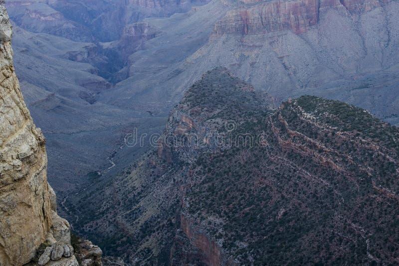 Redwall石灰石大峡谷国家公园,亚利桑那 库存照片
