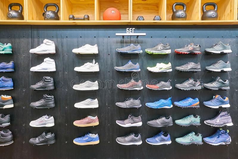 reebok shoes display