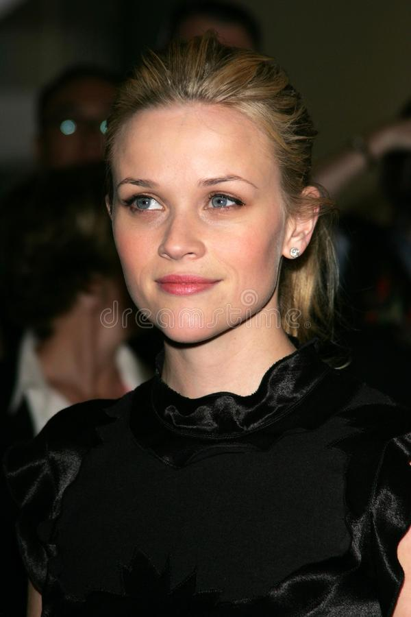 Reece Witherspoon royalty-vrije stock afbeelding