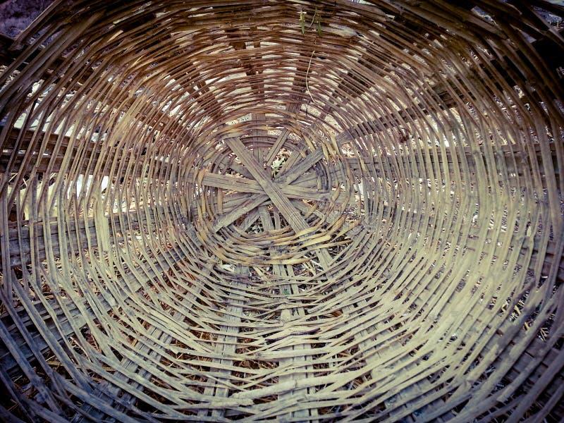 Reed Basket imagem de stock royalty free
