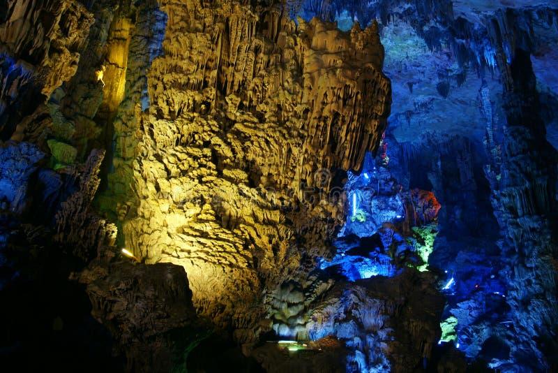 Reed Flute Cave fotografering för bildbyråer