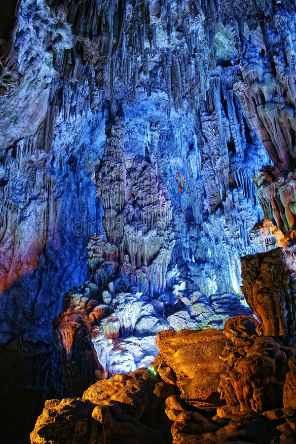 Reed Flute Cave royaltyfri fotografi