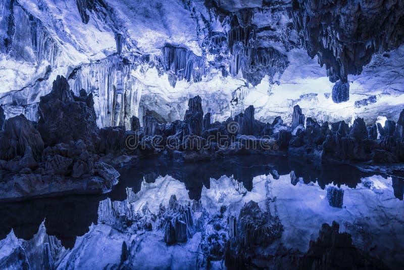 Reed Flute Cave imágenes de archivo libres de regalías