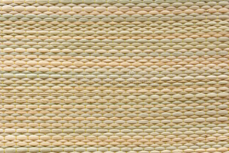Reed mat texture background. Woven cyperus difformis stock image