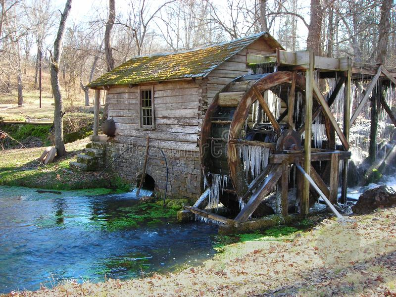 Reed Springs Mill stock photo