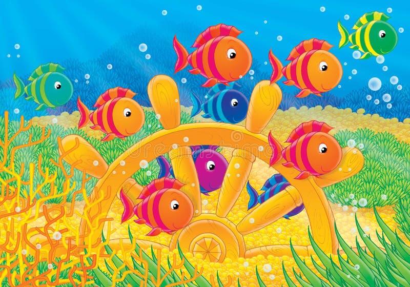 Download Reef 15 stock illustration. Image of corals, underwater - 189003
