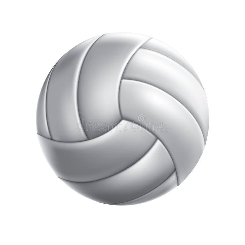Reeks 1 van de Bal van het volleyball royalty-vrije illustratie