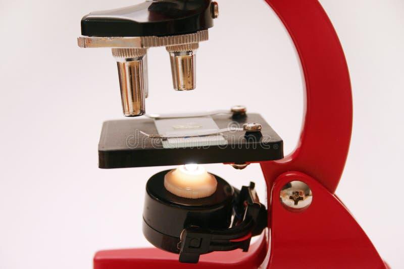 Reeks 2 van de microscoop stock foto's