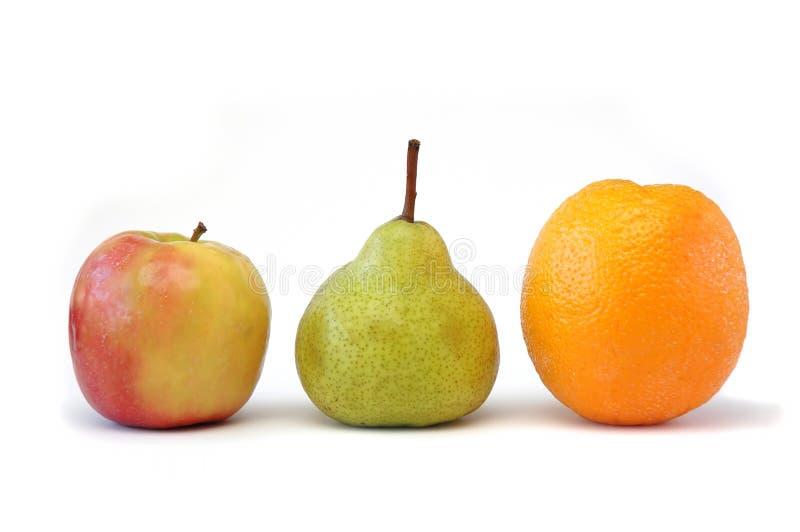 Reeks 2 van het fruit royalty-vrije stock afbeelding