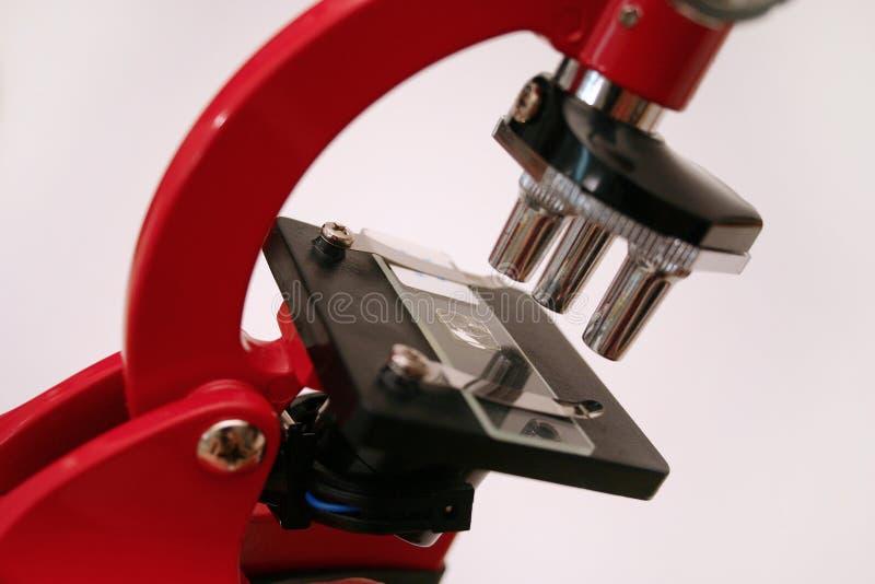 Reeks 3 van de microscoop stock afbeeldingen