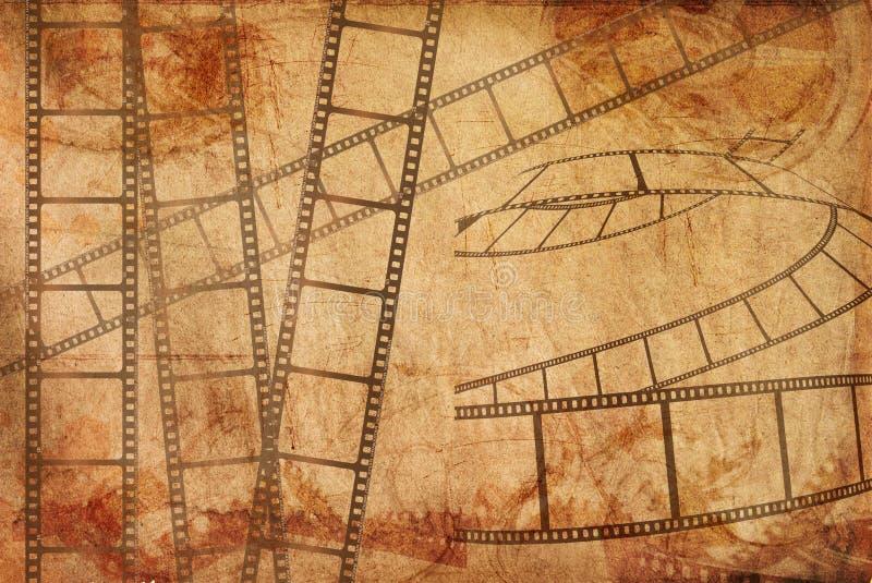 Reeks cinematografie-films stock foto's