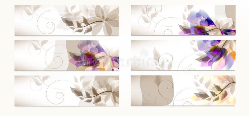 Reeks collectieve identiteitsmalplaatjes voor ontwerp vector illustratie