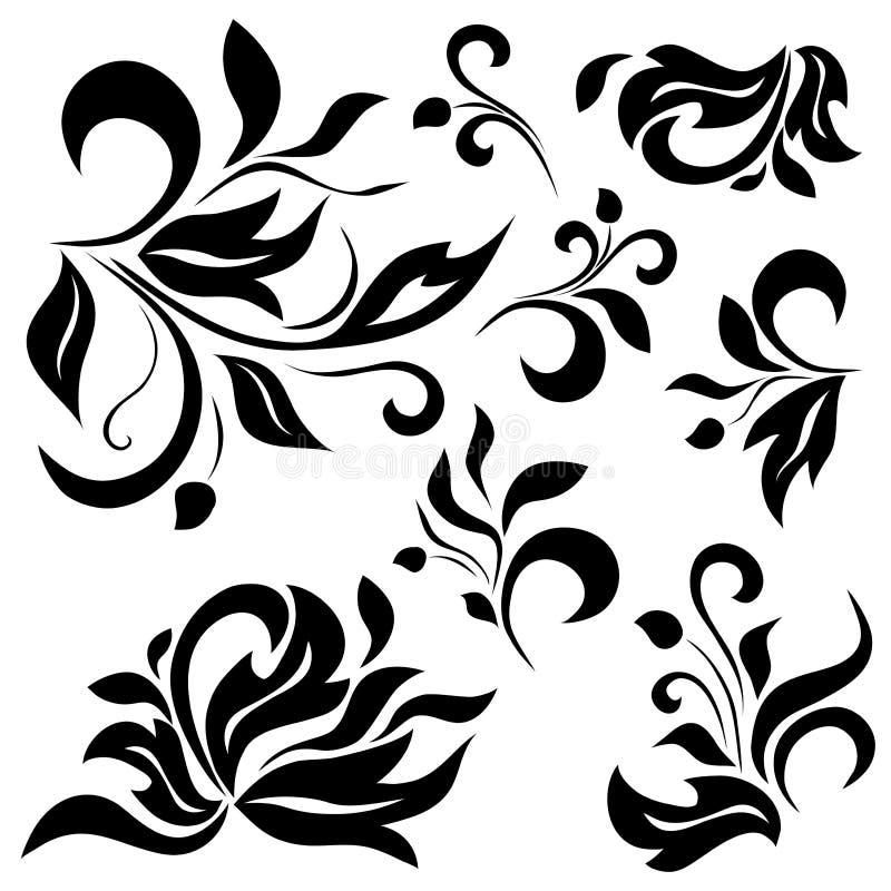 Download Reeks Elementen Van De Bloemblaadjes Vector Illustratie - Illustratie bestaande uit glade, cliche: 29507263