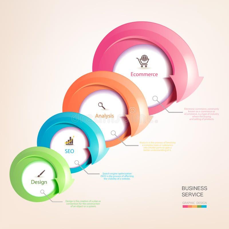 Reeks kleurrijke pijlen vector illustratie