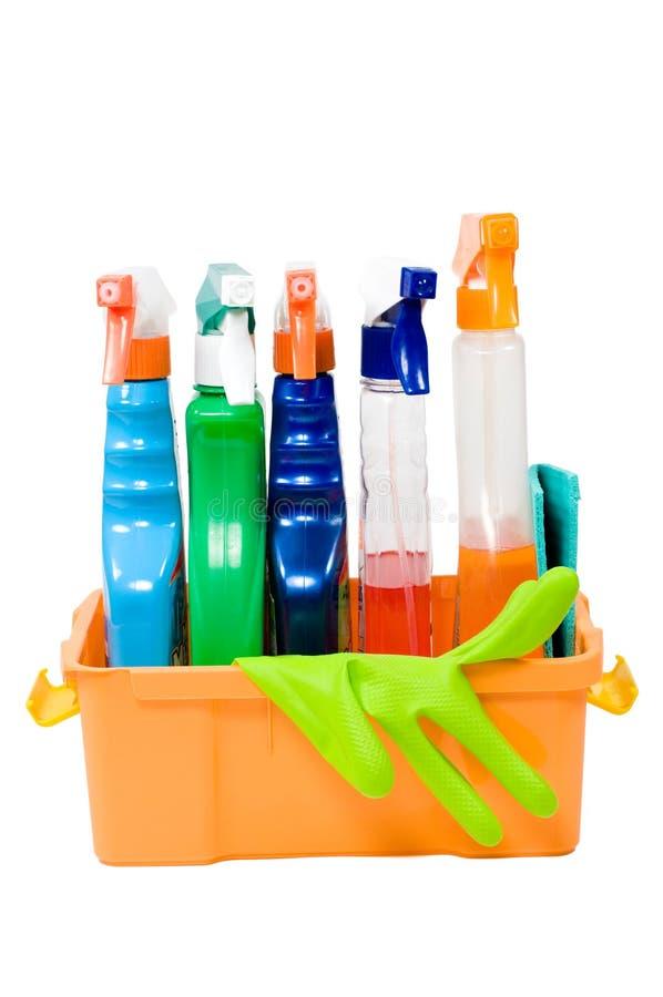 Reeks nevels voor het schoonmaken. stock foto's